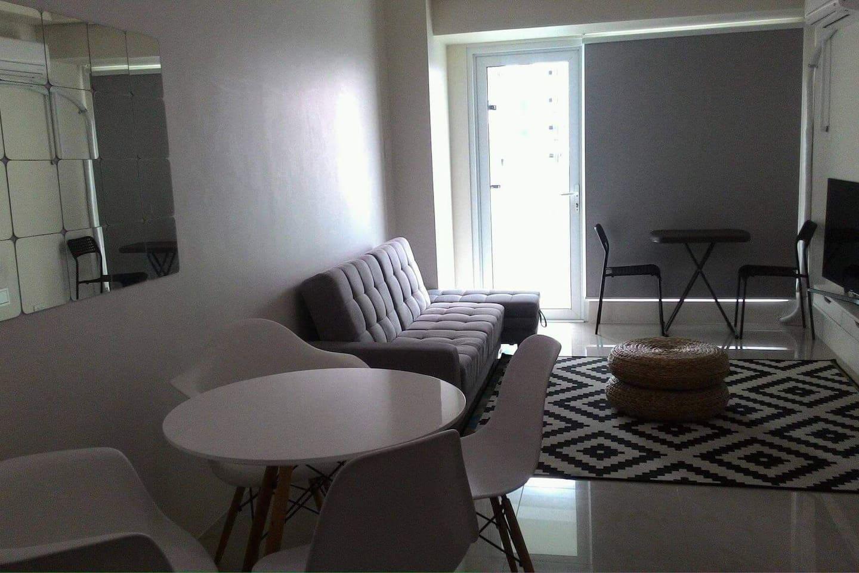 roller blinds - living room