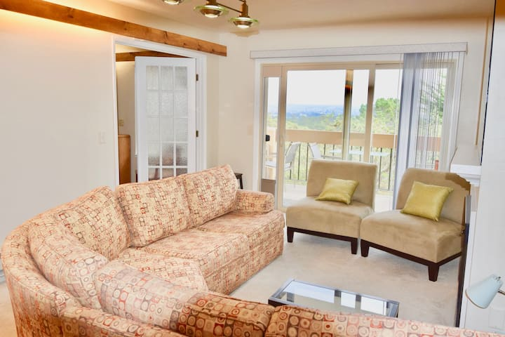 2 Bedroom 2 Bath With Ocean Views in Monterey 6 month + Lease