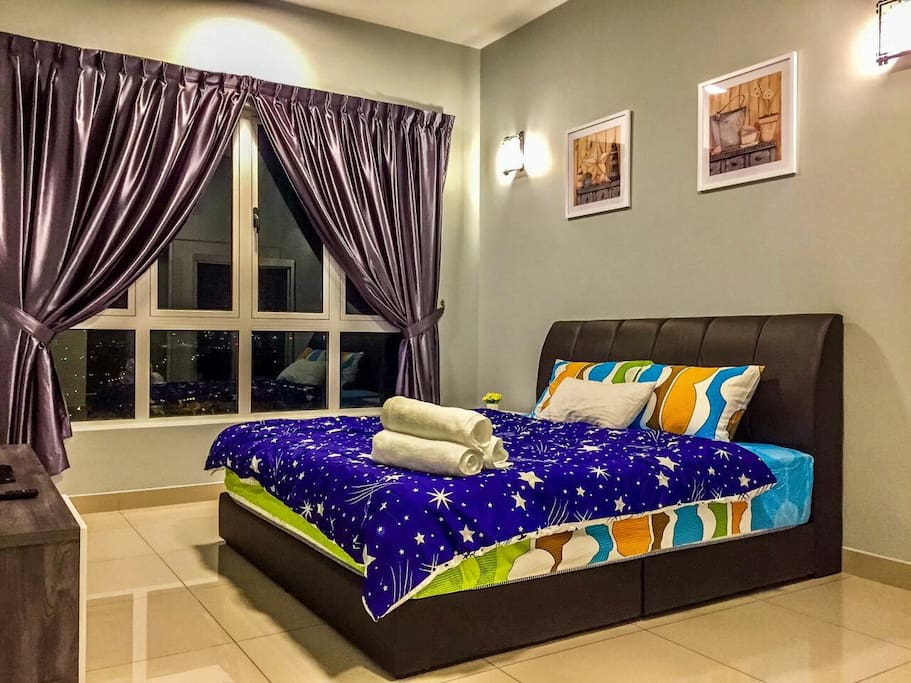 One Bedroom with king size bed