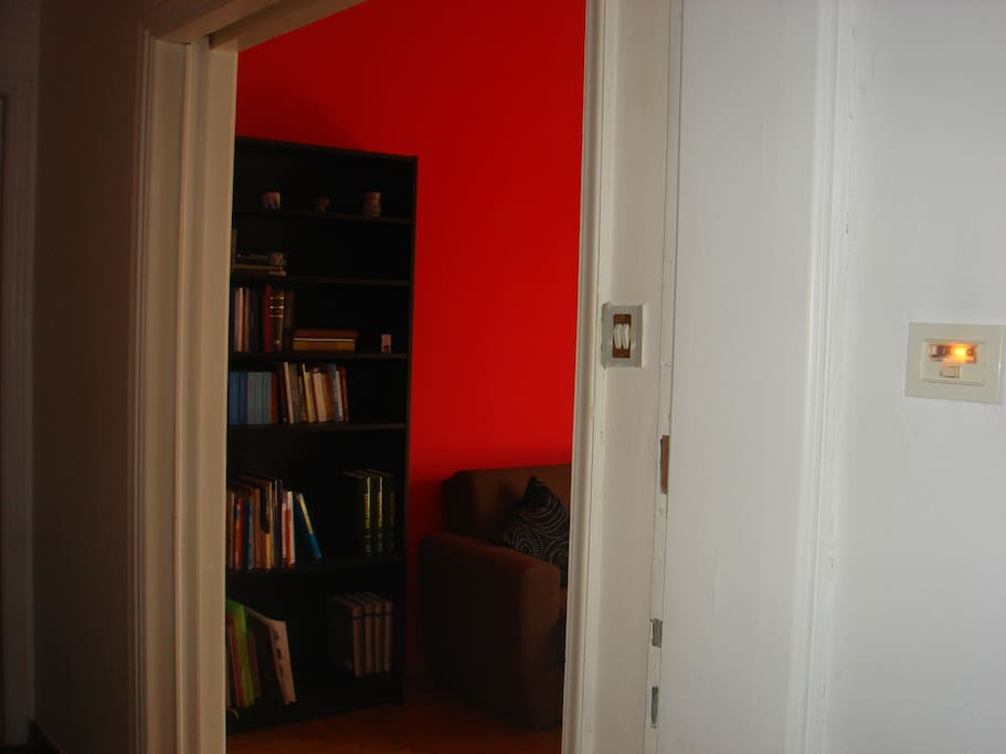 Entry to the appartment