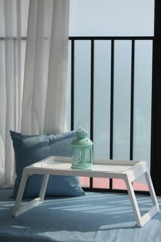 泡泡海度假家园-舒畅悦海一房一厅