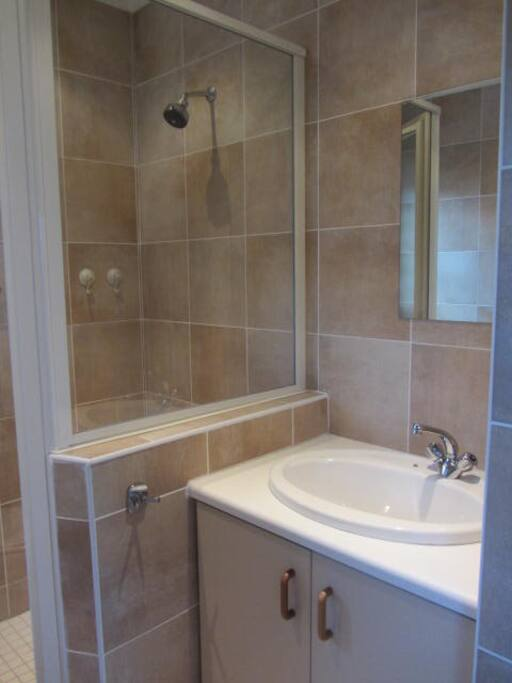 Large shower room and toilet