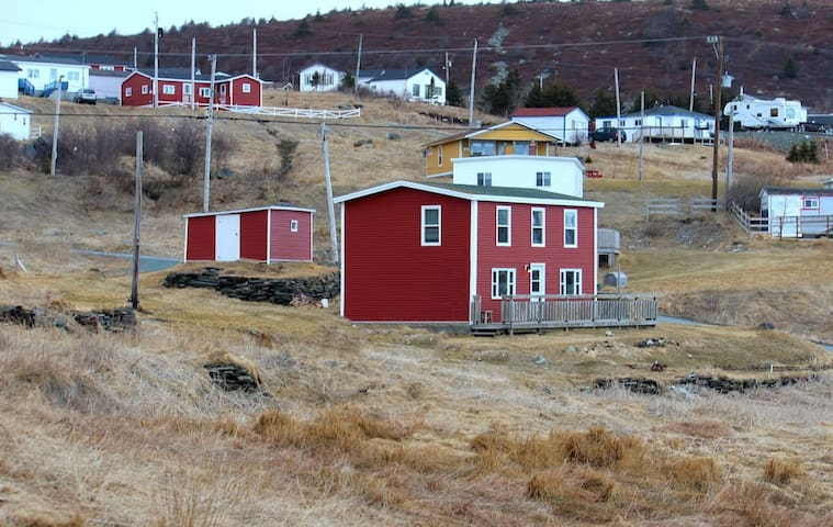 The Valley House in Ferryland.