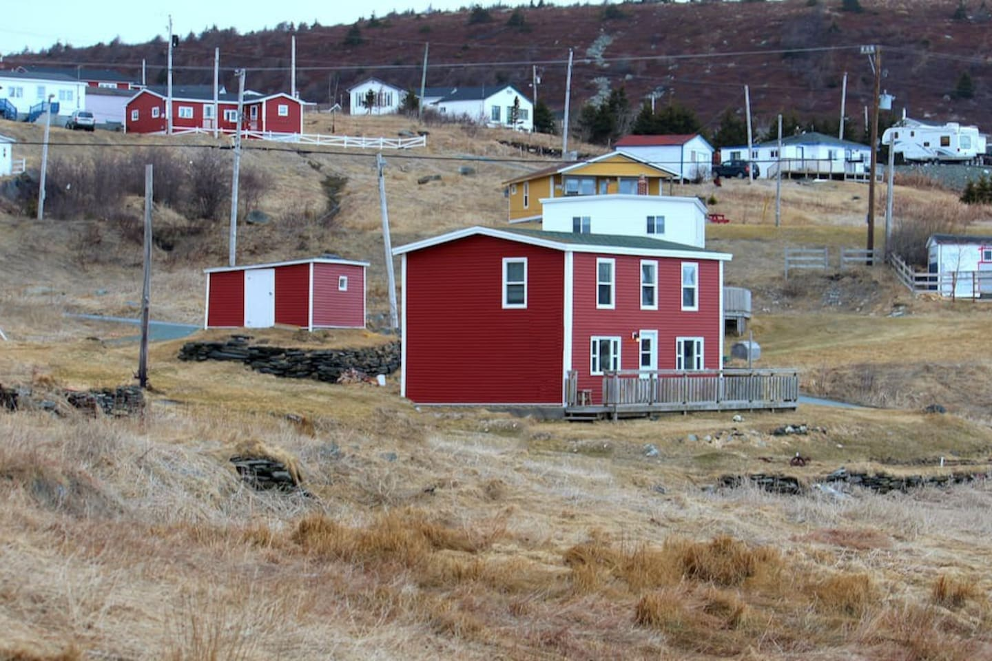 The Valley House in Ferryland, Newfoundland and Labrador, Canada
