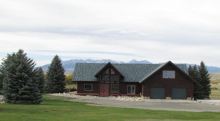 Big Timber Executive Log Home