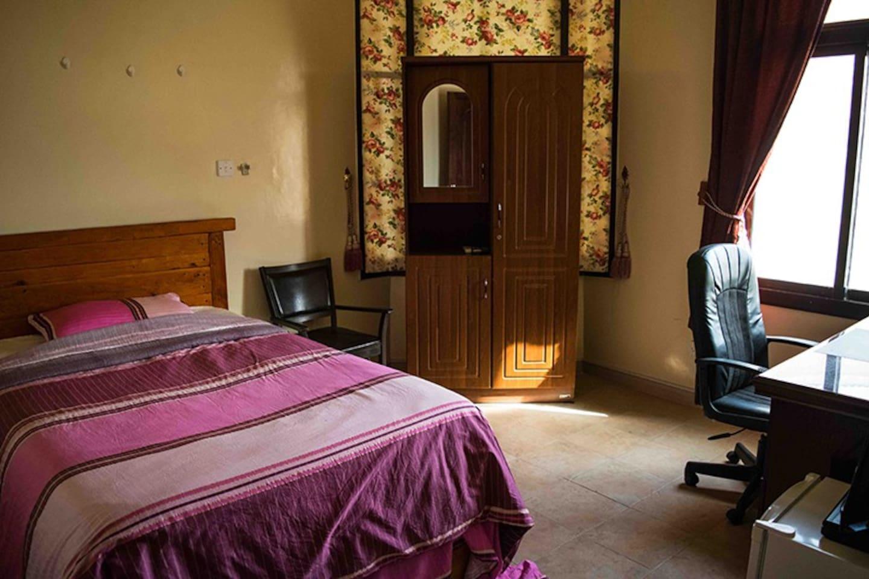 A Super Single Bed Room