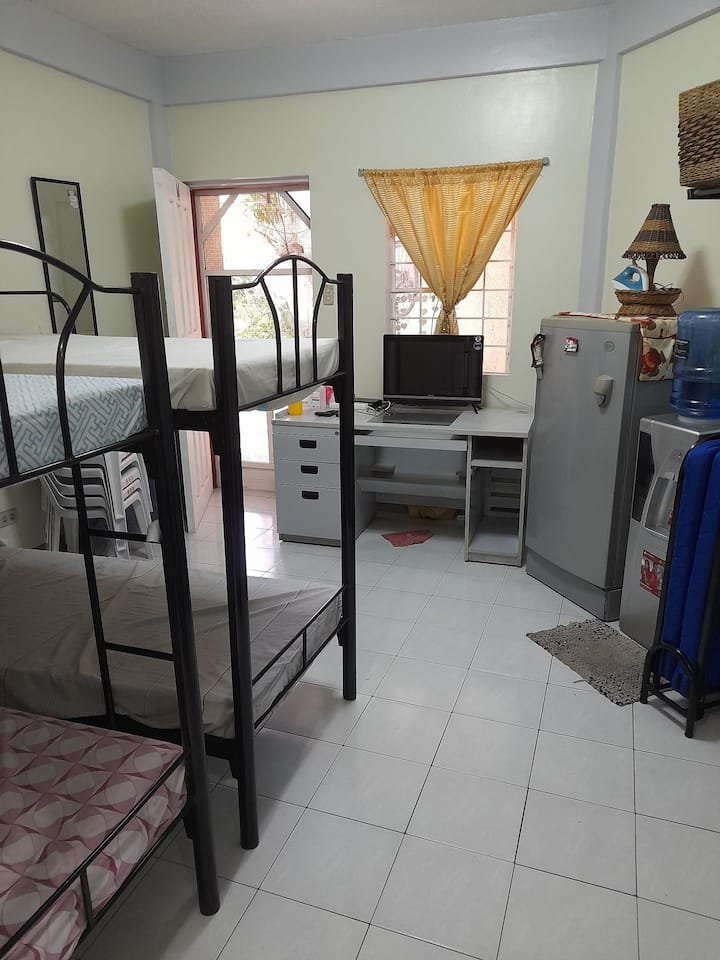 Bed space for Male/Female.