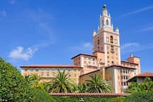 Biltmore hotel at Coral Gables