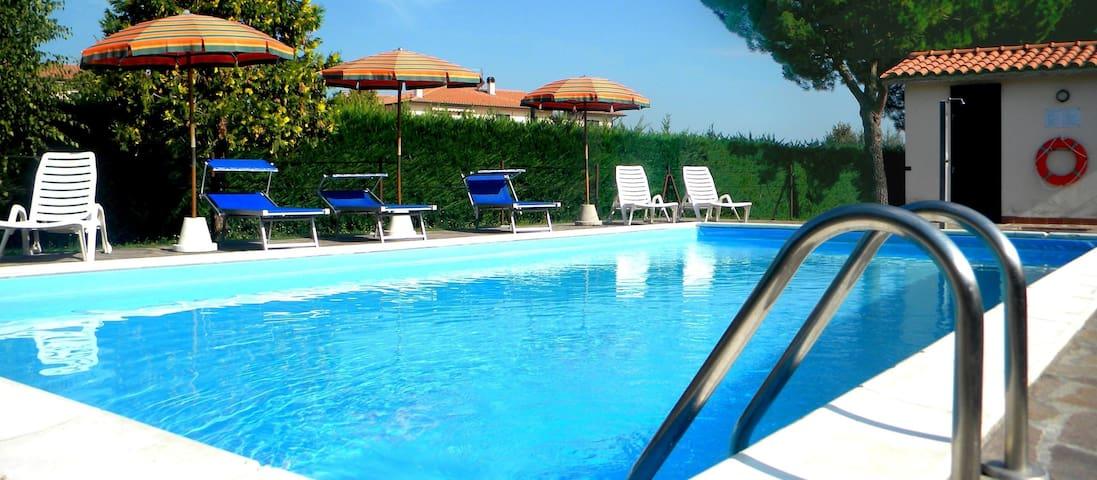 Romatic apartment at Castiglione del Lago