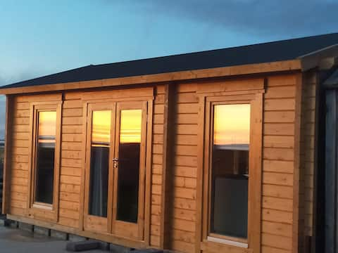 Marston self-catering holiday Log cabin Sanday