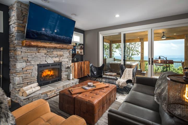 Mountain Home w/HOT TUB - Blue Ridge Mountain Club