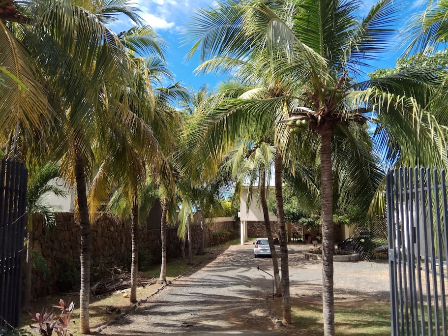 Entrance Casa Pacifica