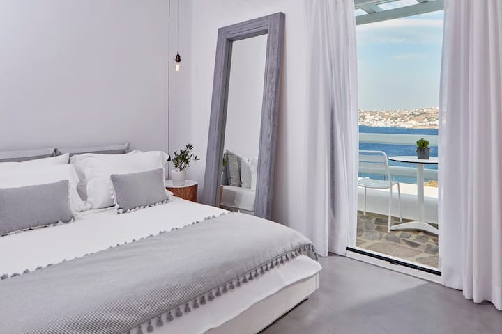 Deluxe Double or Twin Room with Sea View A
