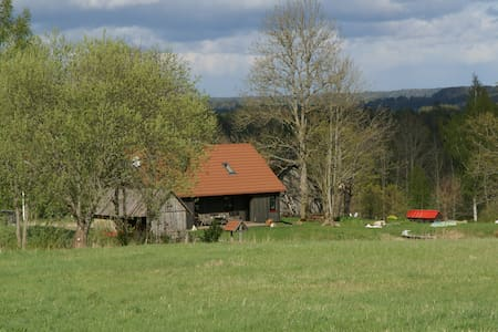 A peacefully charming farm in Āraiši
