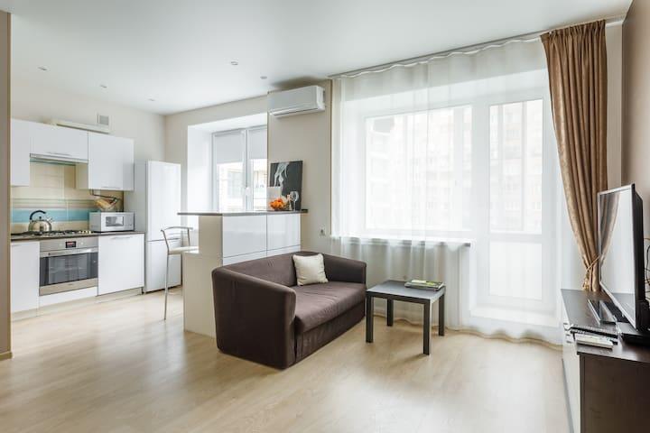 British style apartment - Moscow  center (Arbat)