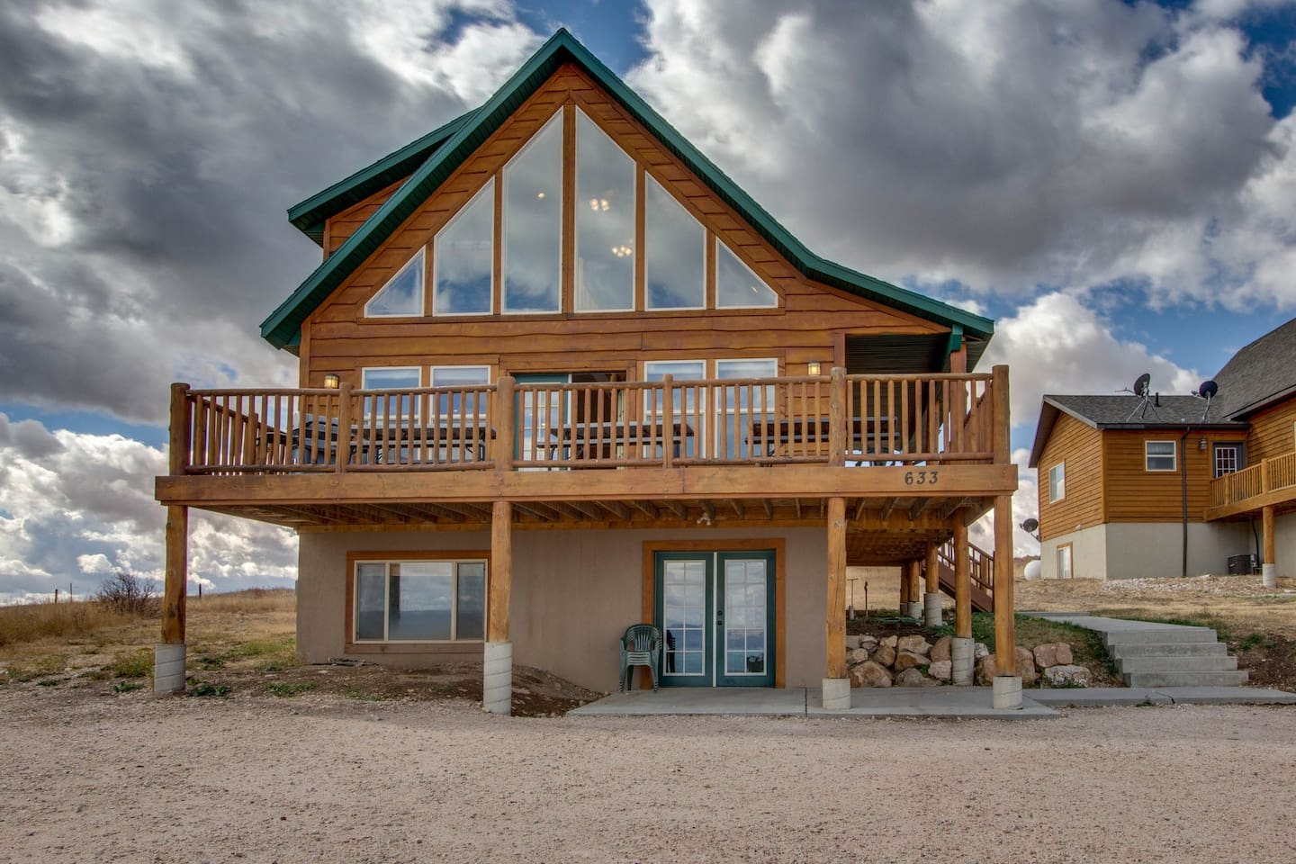 Dog-friendly lakeview cabin with shared pool, hot tub, and tennis ...