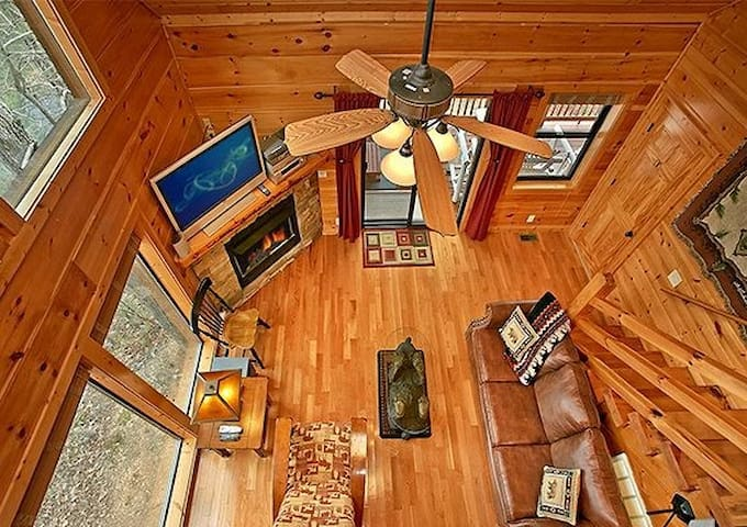 Mtn View*HotTub*Pool Table*2BR*Sweet - Pigeon Forge - Cabin