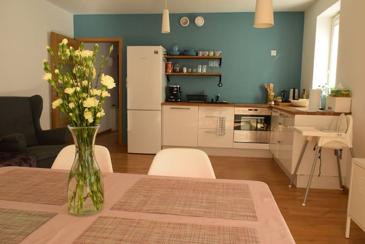 ♛ Lovely comfortable flat near all +Free Parking ♥