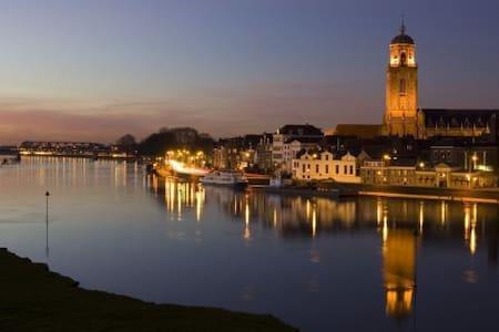 Rustige plek dichtbij de IJssel - Deventer - House