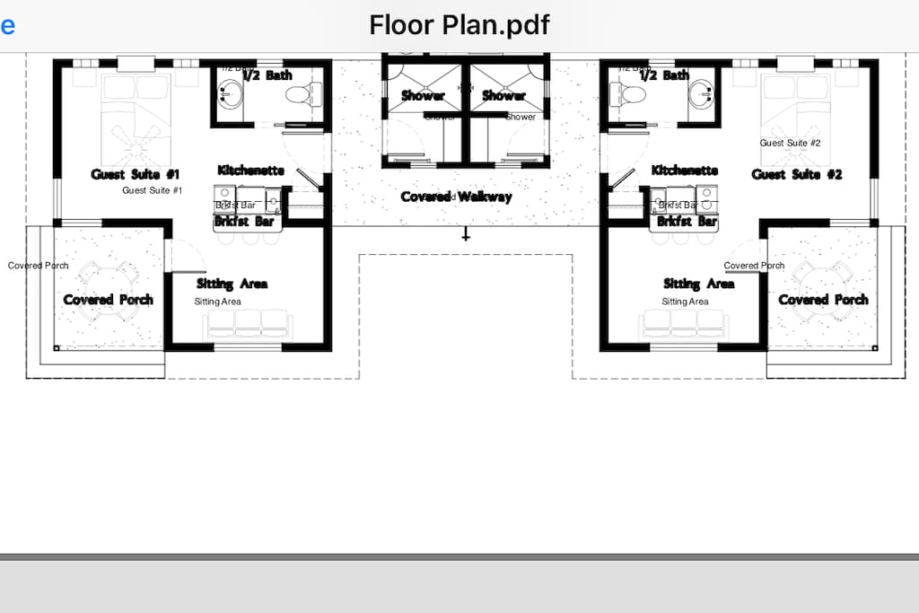 Behold a unique and ergonomic floor plan!