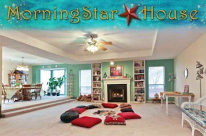 MorningstarHouse, REDUCED/ monthly-open August