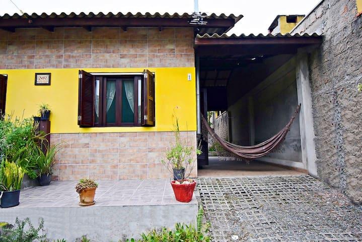 Casa Sossego no Rio Doce em Zimbros