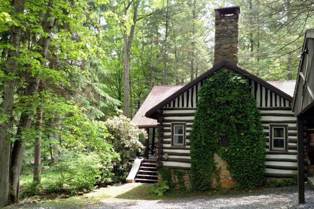 Log Cabin Near Gettysburg Cabins For Rent In