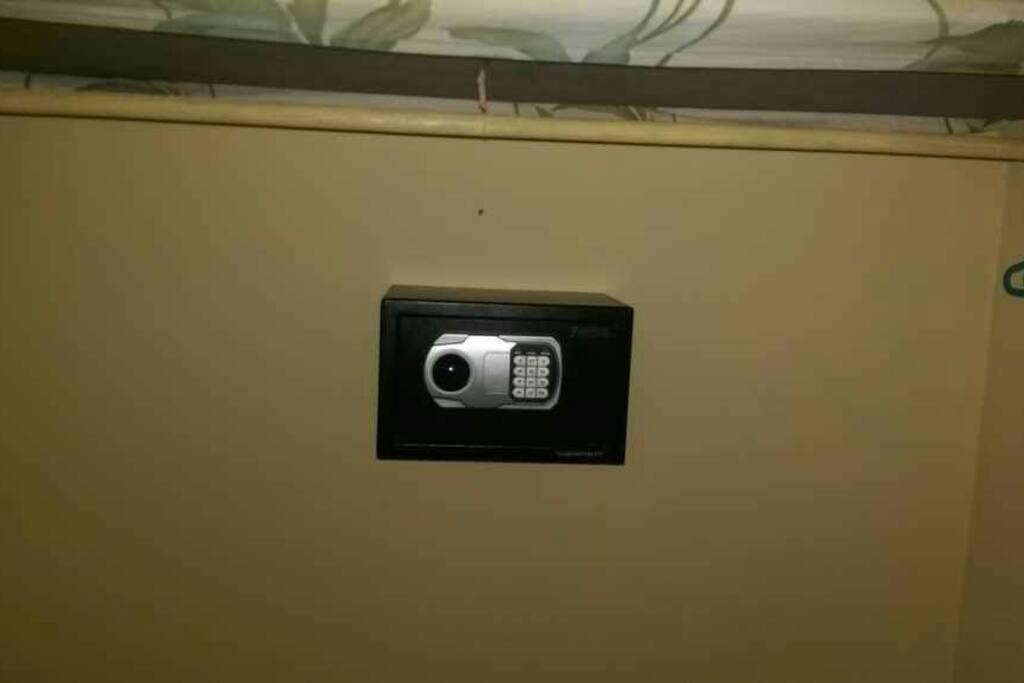 Safe for valuables