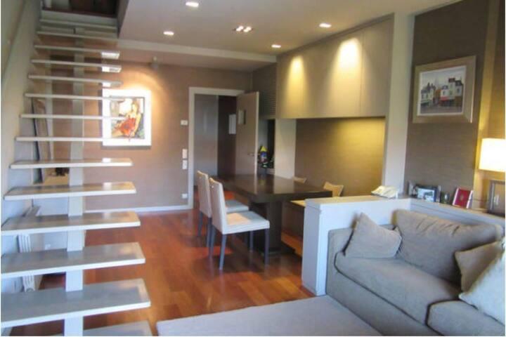 Espectacular Suite 50m2 en apartamento de diseño