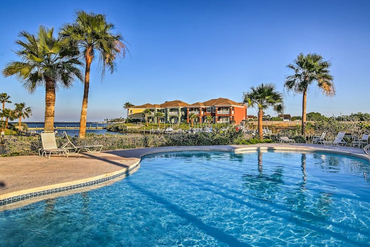 This 3-bedroom, 2.5-bath townhome is located in the South Padre Island Golf Club