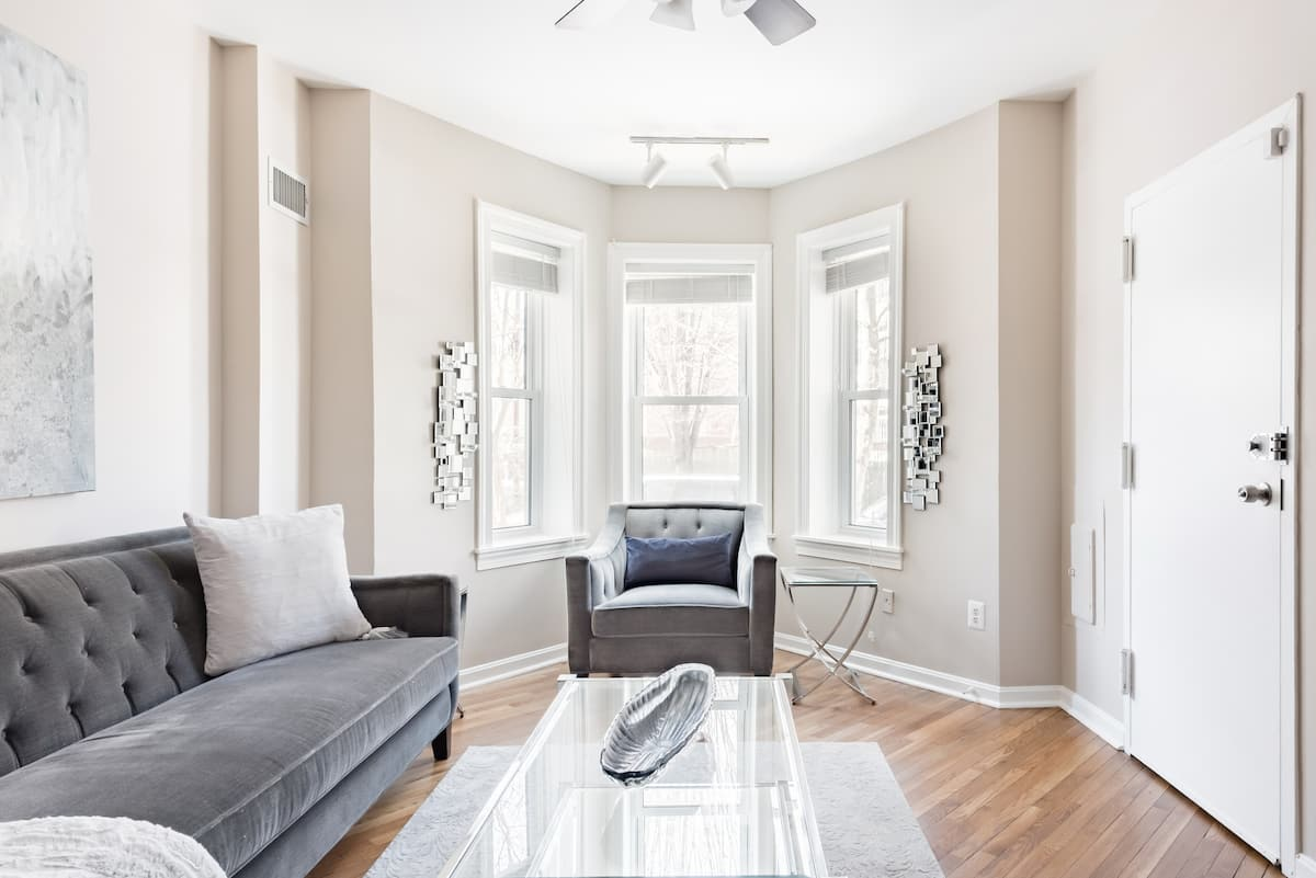 Discover Hip H Street from a Classy, Comfortable Townhouse