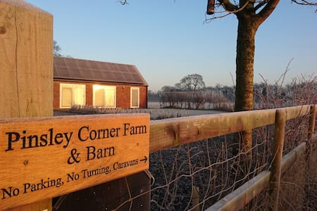 Pinsley Corner Barn - South Cheshire Rural Retreat - Pinsley Green