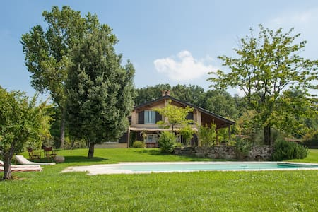 Exclusive Villa with pool in Emilia for 8 person - Carpaneto Piacentino - 別荘
