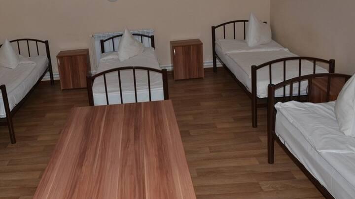 Односпальная кровать в 4м. общем номере