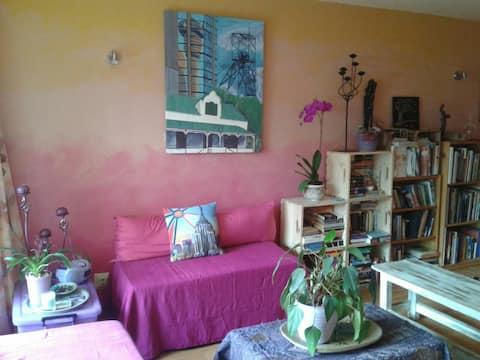 Funky, Colourful, Artsy Haven in Randburg