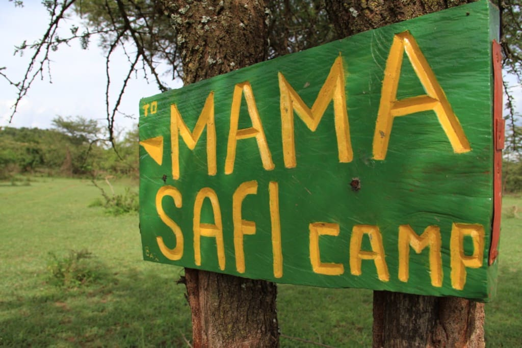 Mama Safi signboard