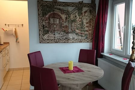 Beautiful two room apartment with big roof-terrace - Wiesbaden - Apartment - 1