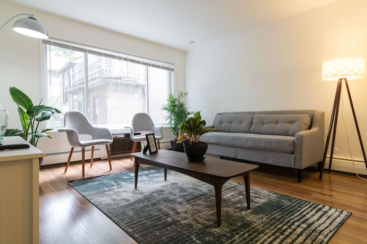 Your own apartment in New Center