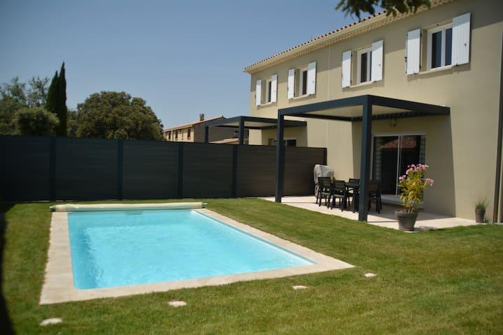 Le Chesnaie** avec piscine privée