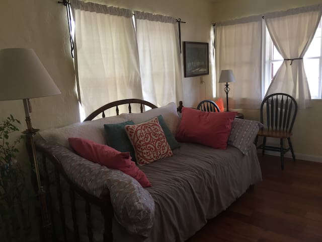 Living room - trundle daybed