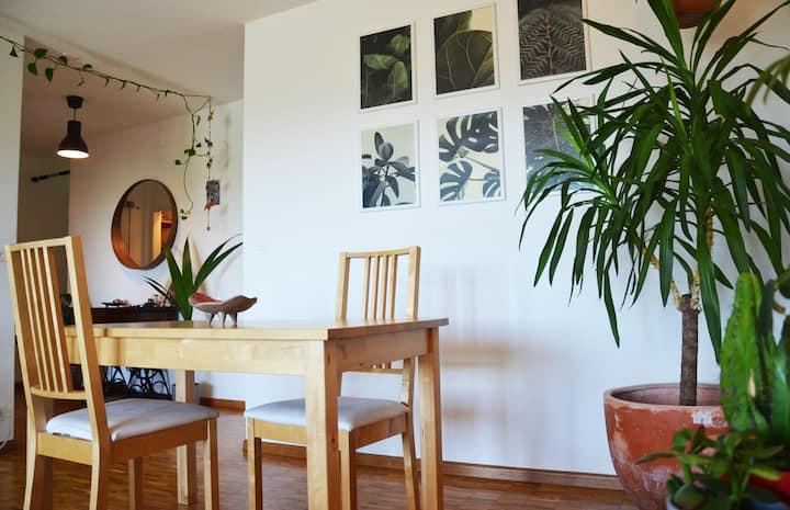 Wohnung mit Aussicht, 27min von Zürich entfernt