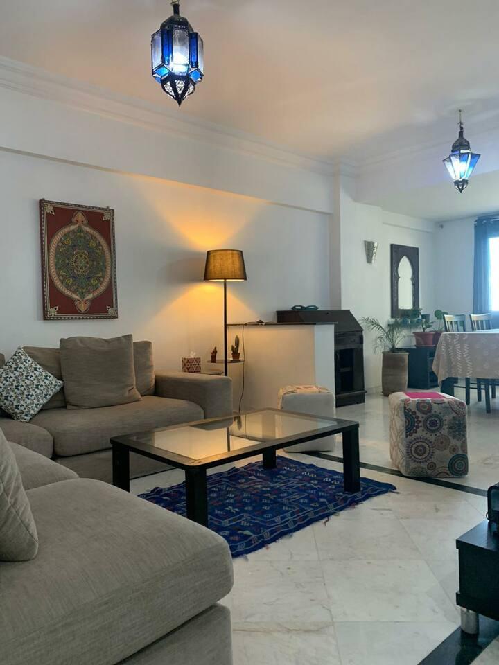 Appartement 2 ch avec vue mer à  - Tanger  centre