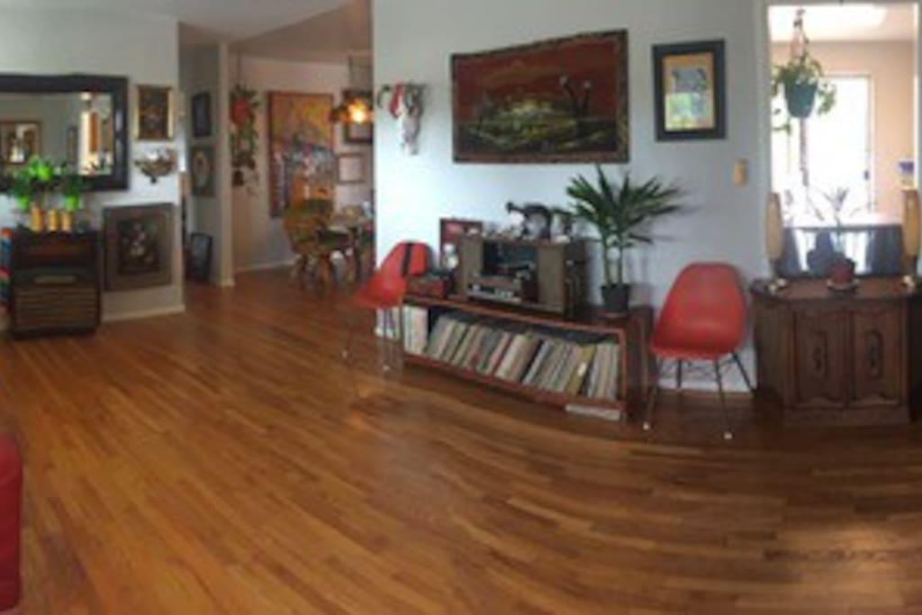 Foyer/Music room