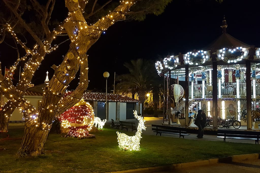Sanary by night en décembre