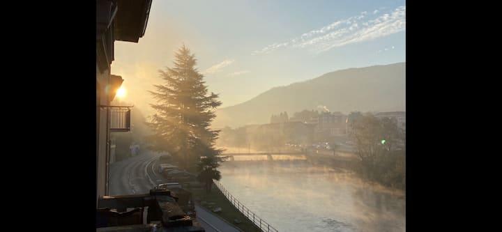 Kleines Bijou am Fluss an der italienischen Grenze