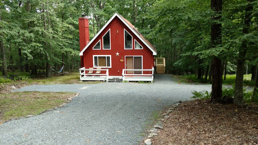 Mariposa, a Family Friendly Lake and Ski Chalet - Lackawaxen - Bungalo