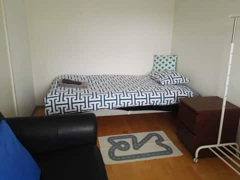 3) Private room in shared house in Lund