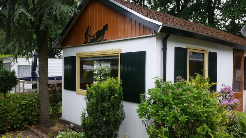 """Luxe Chalet op """"het Eibernest"""" - Eibergen"""