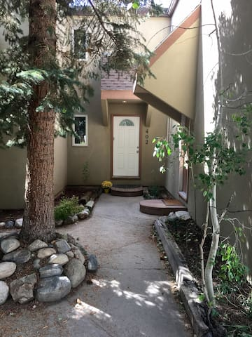 Entryway to Wildflower Townhome