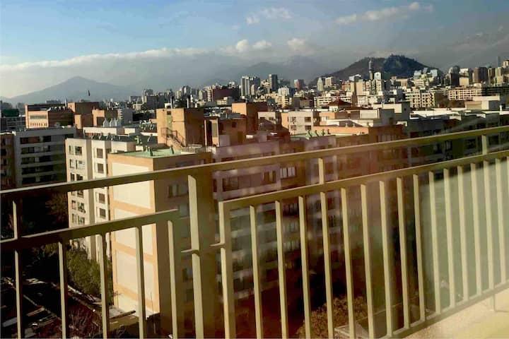 Habitación frente al Club Hípico de Santiago
